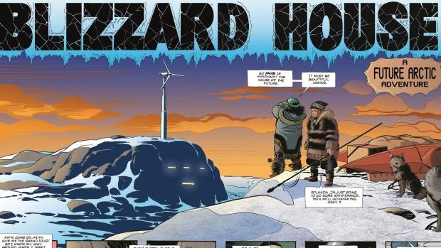 arctic comics inuit
