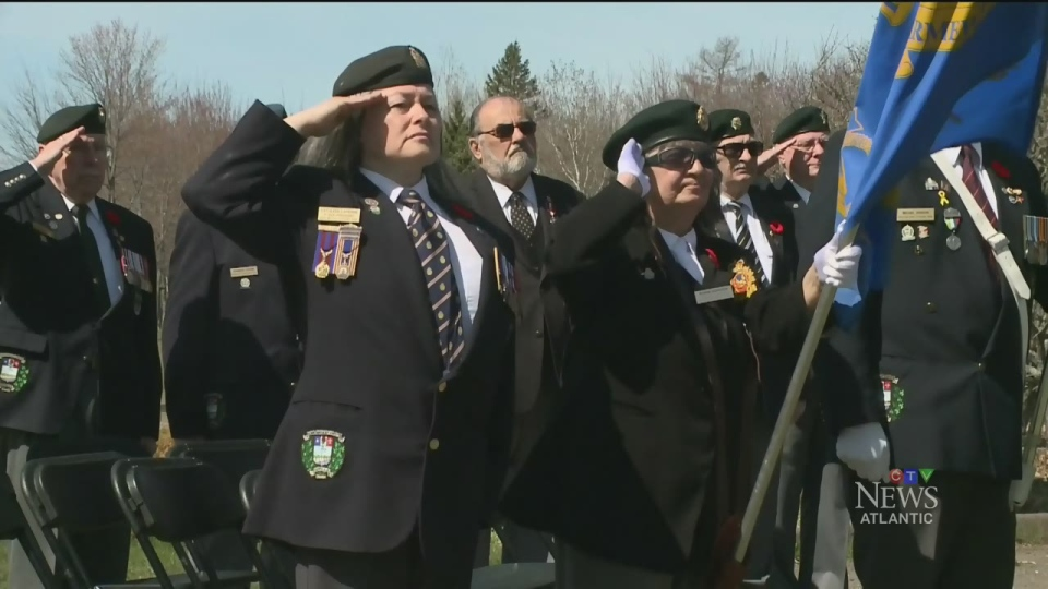 A ceremony commemorating the Battle of the Atlantic was held at Point Pleasant Park in Halifax on Sunday.