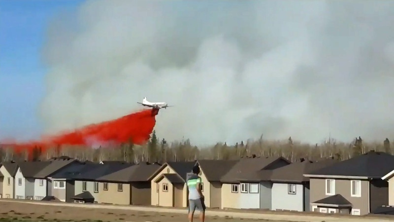 Fort McMurray wildfire - May 1