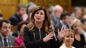 Interim Conservative Leader Rona Ambrose asks a question during question period in the House of Commons on Parliament Hill in Ottawa on Monday, May 2, 2016. (THE CANADIAN PRESS/Sean Kilpatrick)