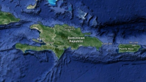 A map of Haiti is seen in this Google Maps image. (Google Maps)
