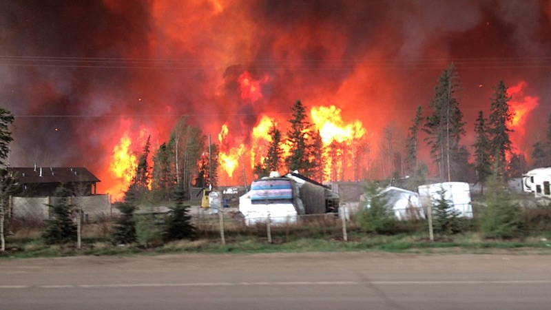 Sad Day Tens Of Thousands Evacuated From Fort Mcmurray