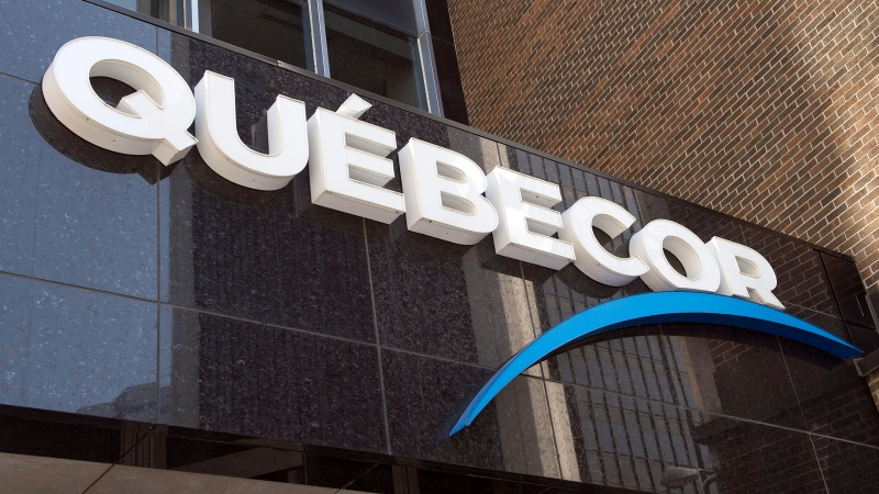 Quebecor head office is seen in downtown Wednesday, May 6, 2015 in Montreal. (THE CANADIAN PRESS/Ryan Remiorz)