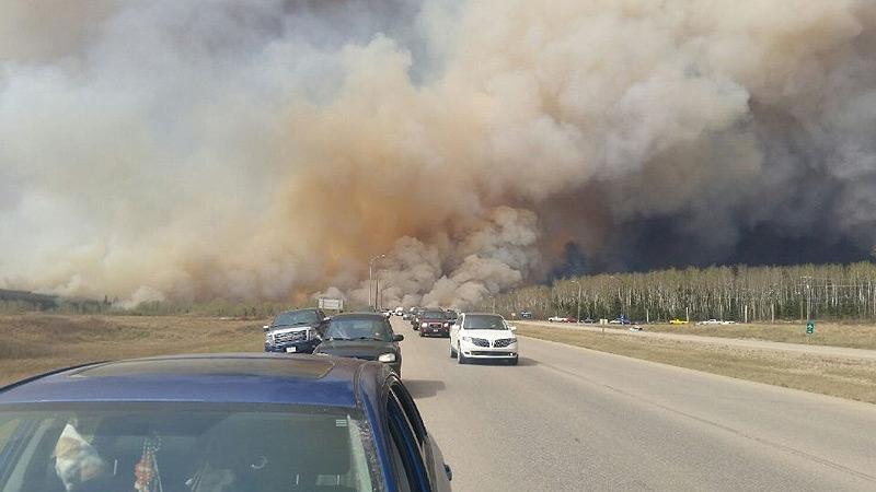 Highway evacuation