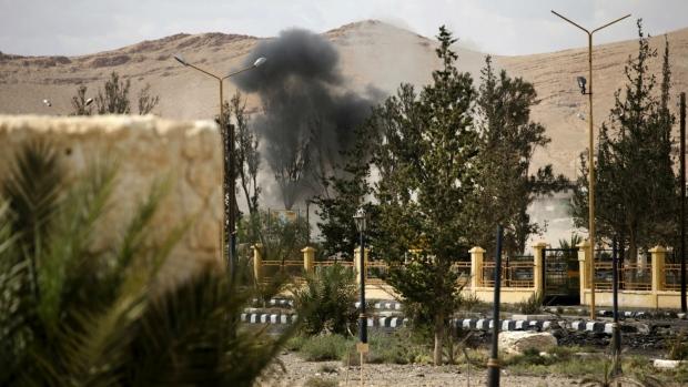 Landmines detonated in Syria