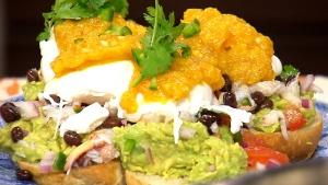 Eggs California a healthy brunch idea. (Canada AM)