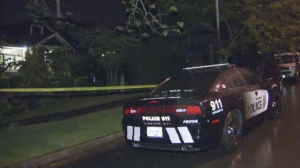 The search is on for a suspect after a 33-year-old man was found suffering multiple gunshot wounds in a targeted attack in East Vancouver.