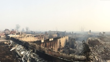 Beacon Hill wildfire devastation