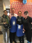 CTV reporter Stefanie Masotti (left) and anchor Jim Crichton at the Lauzon McDonalds in Windsor, Ont., on Wednesday, May 4, 2016. (CTV Windsor)