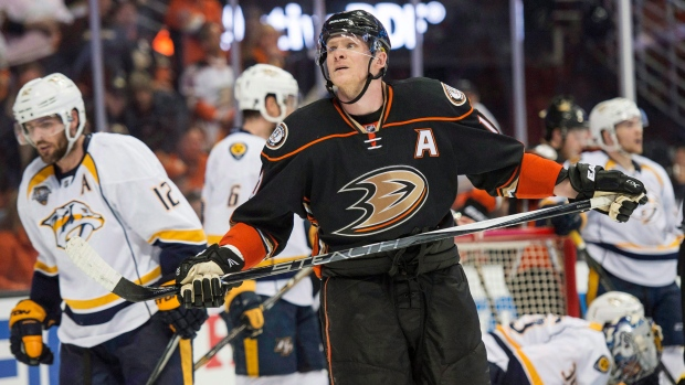 Anaheim Ducks' right wing Corey Perry