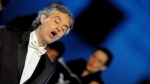 Bocelli will perform at the King Power Stadium as a personal favour to his fellow Italian Claudio Ranieri, Leicester's title-winning manager. (AFP PHOTO/ TIZIANA FABI)