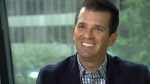 Donald Trump Jr. defends his father's views while promoting the Trump Tower development in a one-on-one interview with CTV News. May 5, 2016.