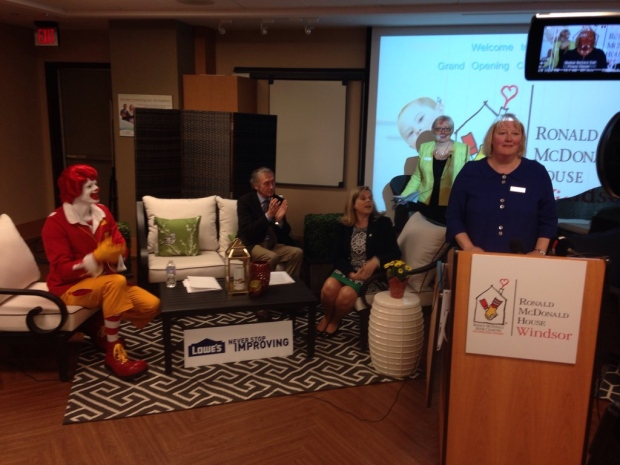Who was named Ronald McDonald House's King of Kilts?