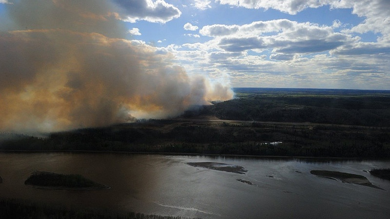Smoke from Fort McMurray Fire