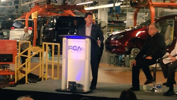 Chrysler Pacifica Launch At Windsor Assembly Plant Ctv