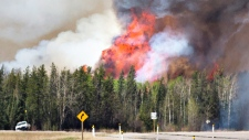 Albert wildfire expected to grow
