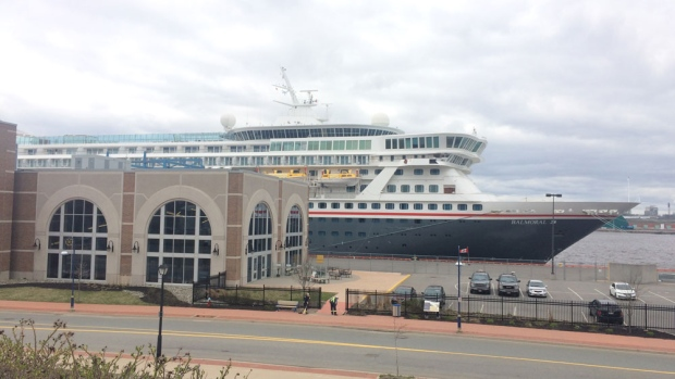 Cruise Ship With Cases Of Norovirus Onboard Docks In Saint John - Cruise ships saint john nb