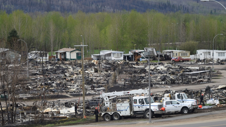 Fort Mcmurray Fire 2 400 Buildings Lost 25 000 Saved Ctv News