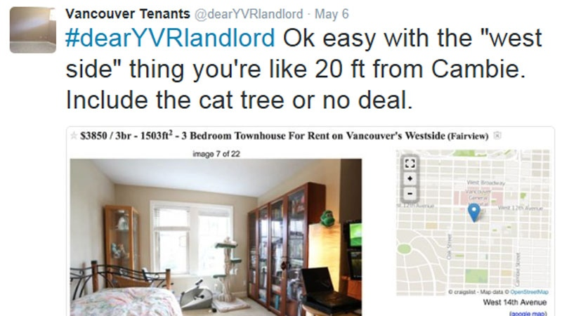A hallway is not a bedroom': Twitter mocks miserable Vancouver rent