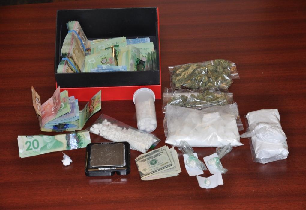 London drug bust