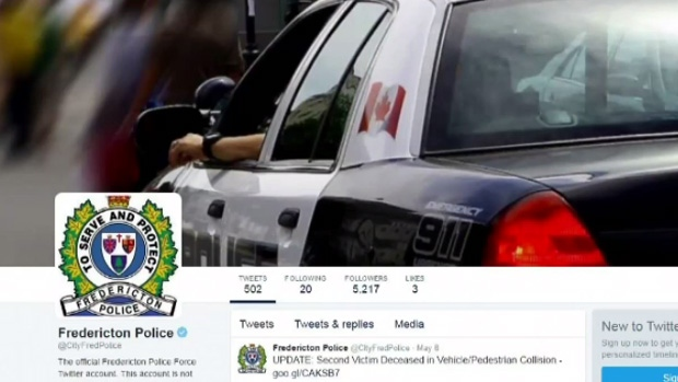The Fredericton police force's use of bilingualism on social media is under investigation.