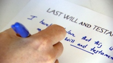 Experts warn young adults to write a will