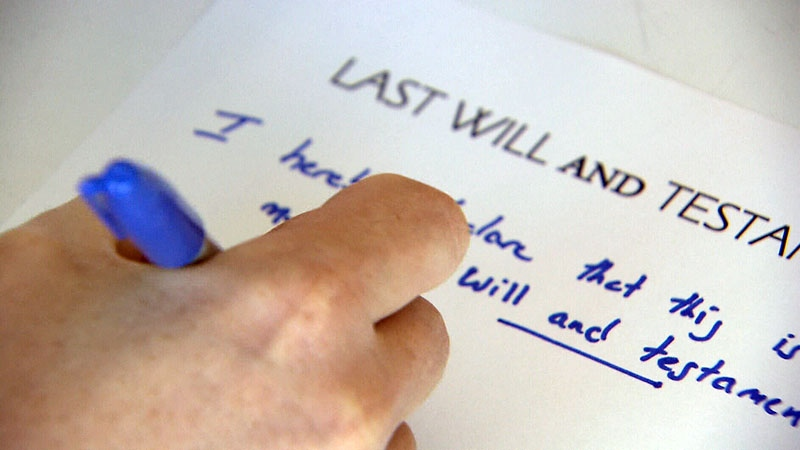 Experts warn that all adults should have a will, but 80 per cent of adults under 35 do not.