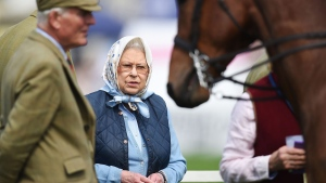 Queen Elizabeth II at the Royal Windsor Horse Show, in the grounds of Windsor Castle on May 12, 2016. (Andrew Matthews/PA via AP)