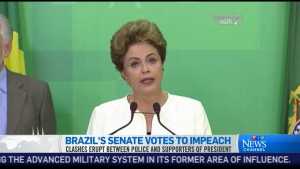 CTV News Channel: Brazil impeachment vote