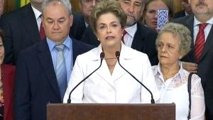 CTV National News: Brazil's president suspended