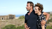 Matthias Schoenaerts and Tilda Swinton in 'A Bigger Splash.'