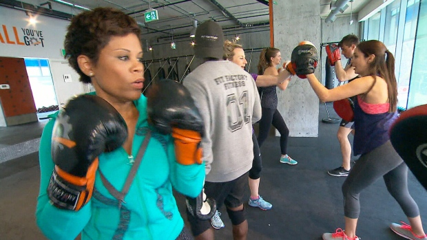 Canada AM: Hardcore boxing workout
