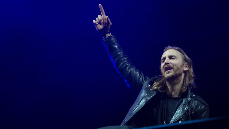 David Guetta's theme for the UEFA Euro 2016 soccer championship, 'This One's For You,' was released May 13. (AFP PHOTO / YASUYOSHI CHIBA)
