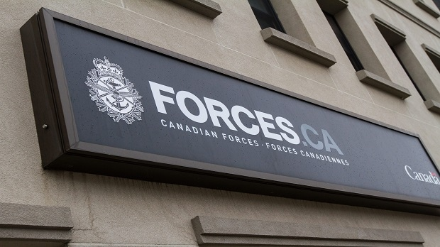 A Canadian Forces office is shown in this file photo. (Lars Hagberg/THE CANADIAN PRESS)