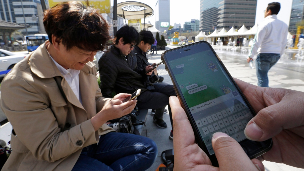 Smartphone usage