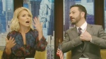 Kimmel asks tough question on Live with Kelly
