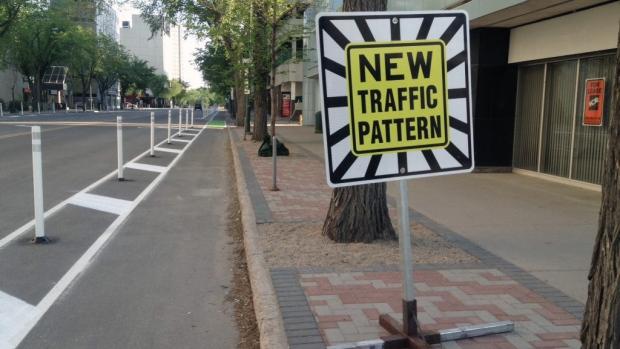 Fourth Avenue bike lanes
