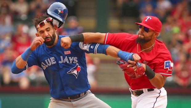 Bad Timing: Gibbons, Pillar dislike timing of Rangers' plunking of Bautista | CTV News