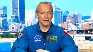 David Saint-Jacques speaks on CTV's Canada AM on Tuesday, May 17, 2016.