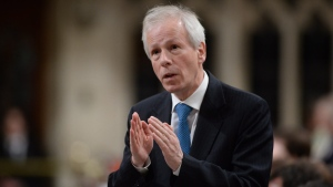 Foreign Affairs Minister Stephane Dion answers a question during Question Period in the House of Commons on Parliament Hill in Ottawa on Thursday, May 12, 2016. THE CANADIAN PRESS/Adrian Wyld