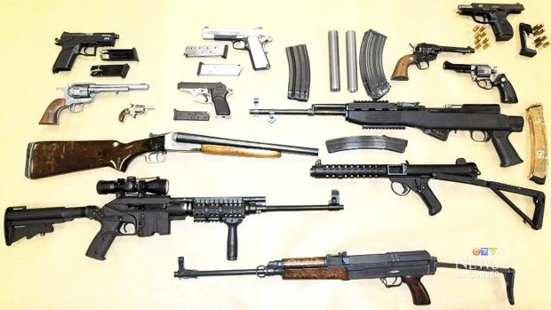 Police seize dangerous drugs, arsenal of guns