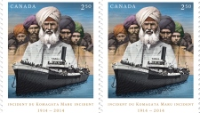 Canada Post Komagata Maru stamp