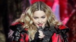 In this Feb. 20, 2016 file photo, Madonna performs during the Rebel Heart World Tour in Macau. (Kin Cheung / AP)
