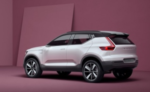 Volvo unveils '40 series' electric small car concepts (Photo: Volvo)
