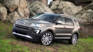 2016 Ford Explorer Platinum. (Courtesy of Ford Motor Co. via AP)
