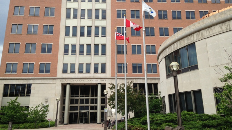 The Region of Waterloo administrative building is pictured on Friday, June 5, 2015. (Brian Dunseith / CTV Kitchener)