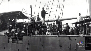 The Komagata Maru is seen in this file photo.