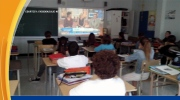 Jeff's Video: Class watches Canada AM