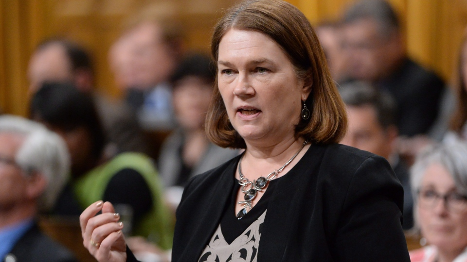 Health Minister Jane Philpott answers a question during Question Period in the House of Commons on Parliament Hill in Ottawa on Thursday, May 19, 2016. (THE CANADIAN PRESS / Adrian Wyld)
