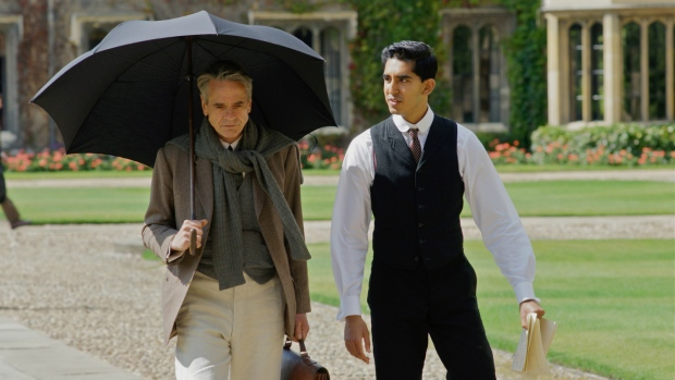 Jeremy Irons and Dev Patel in 'The Man Who Knew Infinity.' (IFC Films)